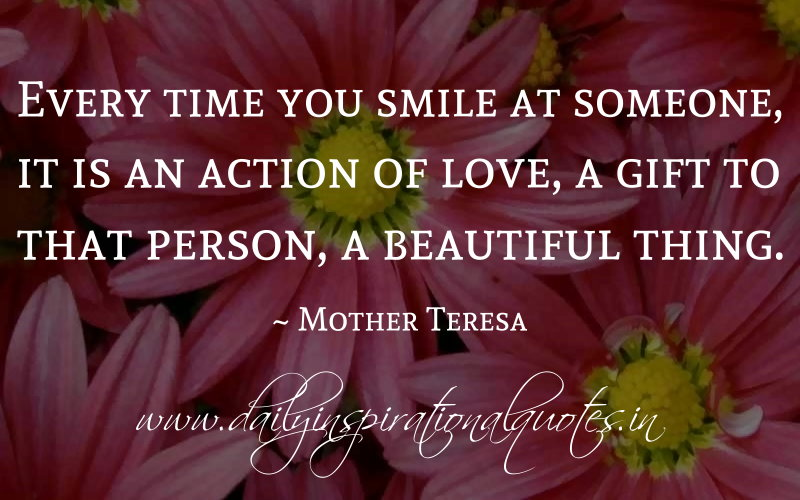 mother teresa on kindness quotes quotesgram