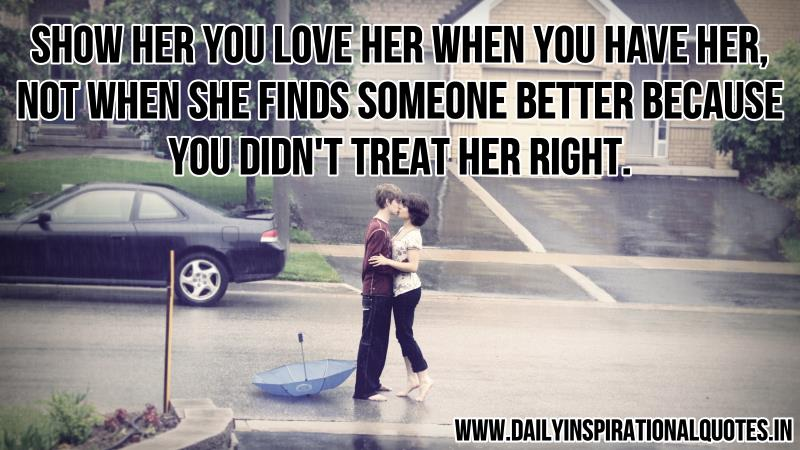 Show Her You Love Her When You.. ( Relationship Quotes