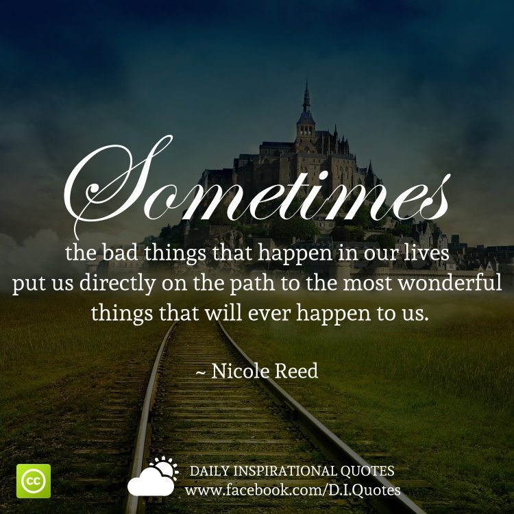 Bbad Things Happen: The Path To The Most Wonderful Things