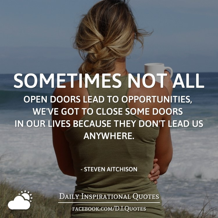 The Worst Mistake People Make When Placing Under Counter: Sometimes Not All Open Doors Lead To Opportunities, We've